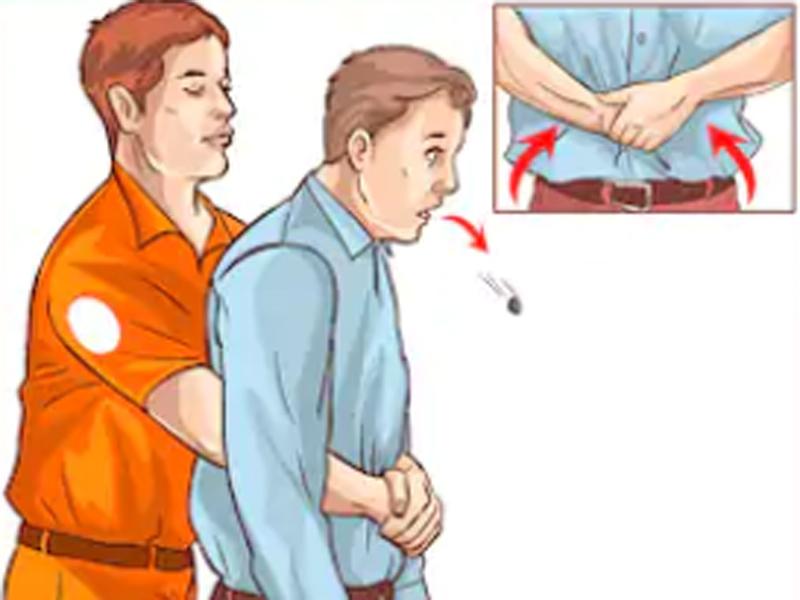 La maniobra de Heimlich para salvar una vida