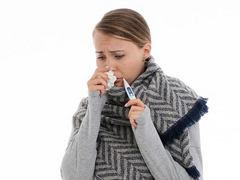Un resfriado en el embarazo puede provocar asma al feto