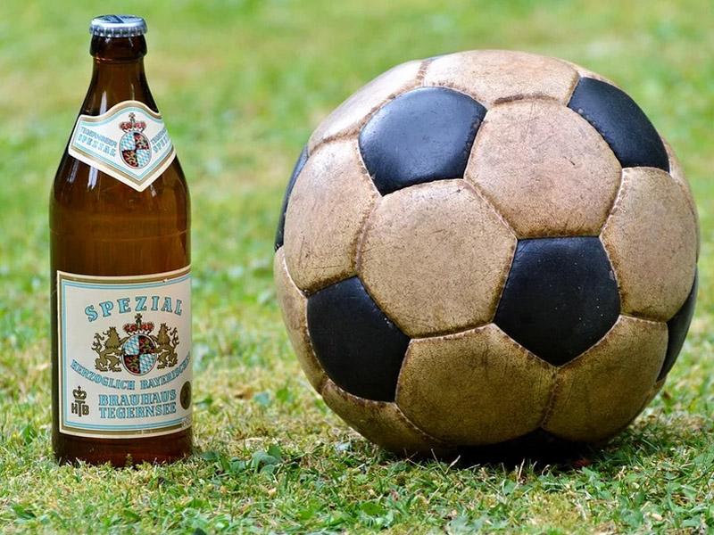 Beber cerveza tras hacer deporte