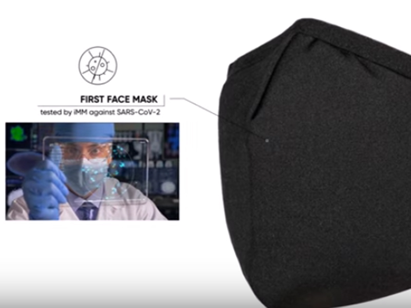 En venta una mascarilla que desactiva el coronavirus