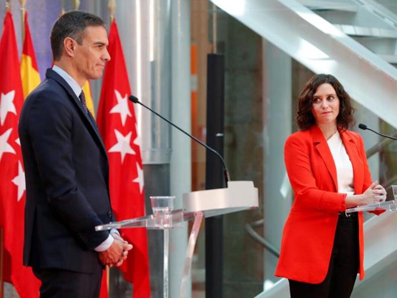 El Gobierno reconoce que el Estado de Alarma de Madrid no es objetivo