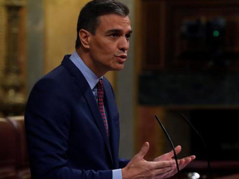 Pedro Sánchez en cuarentena