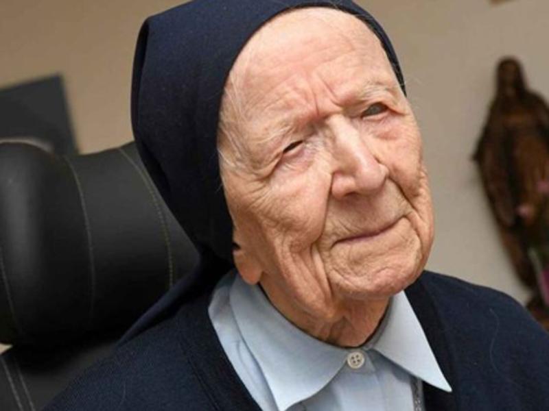 La mujer más anciana de Europa supera el coronavirus