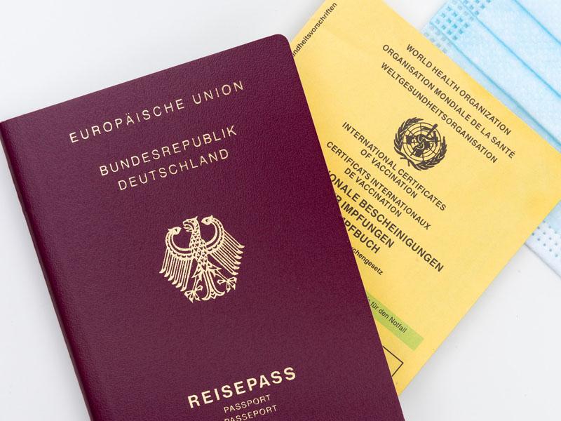 ¿Certificado o pasaporte de vacunación?