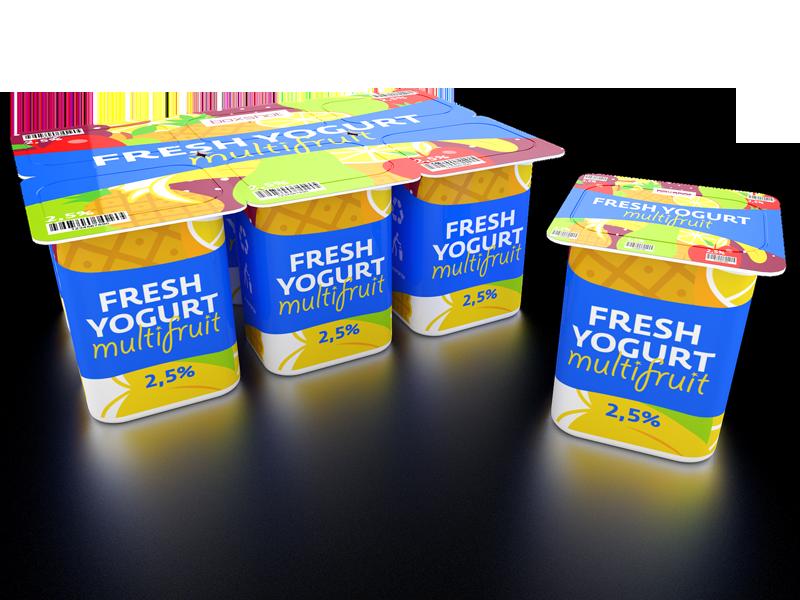¿Es malo chupar la tapa del yogur?